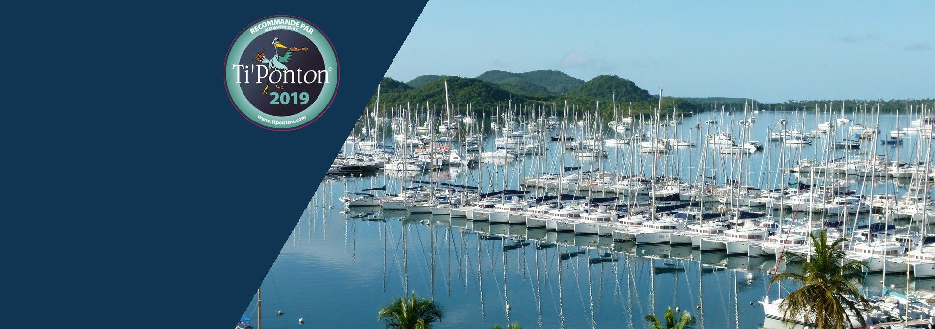 TI'Ponton - Martinique, Guadeloupe<br> and St. Lucia boating directory